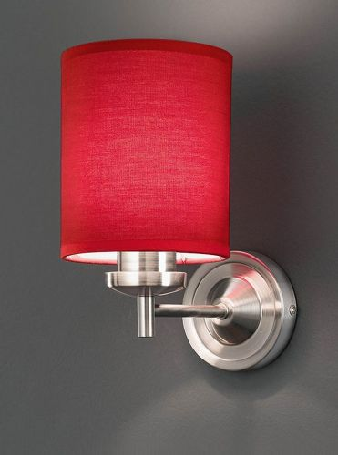 Franklite FL2315/1/1156 Satin Nickel Wall Light